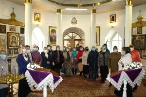 Брянские ветераны посетили храм в честь Преображения Господня