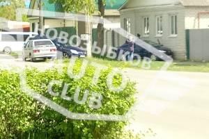 В Новозыбкове водитель легковушки протаранил жилой дом