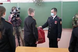 Брянские росгвардейцы побывали в гостях у кадетов