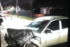 В Брянске на улице Абашева в аварию попали три легковушки