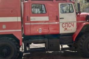 Брянские спасатели за сутки 14 раз выезжали на тушение пожаров