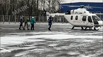 Пациента стоматологии из Новозыбкова на вертолете доставили в Брянск