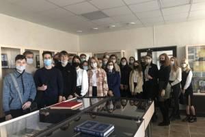 Брянские студенты побывали на экскурсии в музее прокуратуры