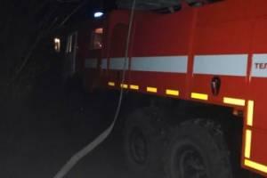 В Брянске тушили пожар в нежилом здании на Красноармейской