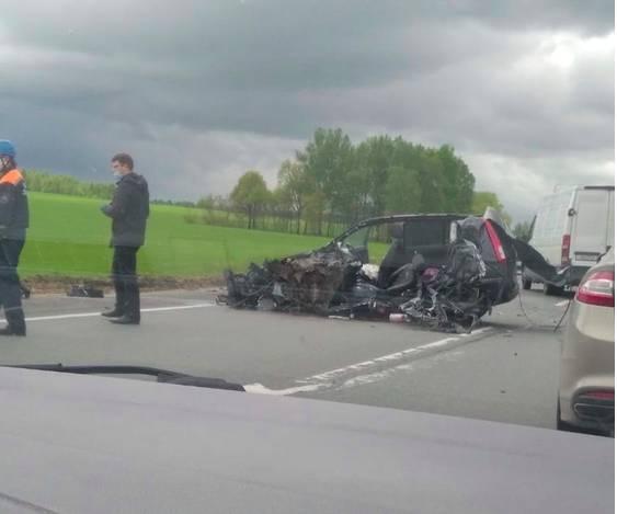 В трагическом ДТП под Почепом погиб 45-летний водитель