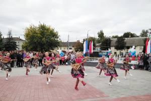 В Брянске после реконструкции открыли Пролетарский сквер
