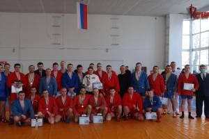 Брянские росгвардейцы отличились на чемпионате по самбо