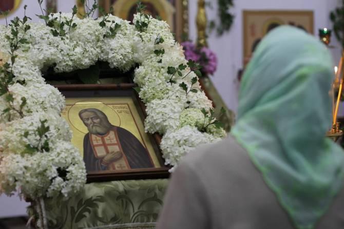 Брянский храм во имя Серафима Саровского отметил престольный праздник