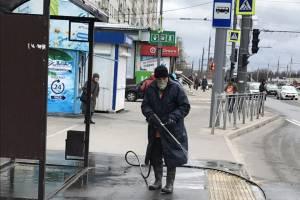 В Брянске за неделю продезинфицировали 140 остановок