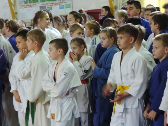 В Новозыбкове проходит Международный турнир по дзюдо