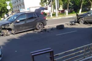 В Брянске ДТП на улице Дуки обошлось без пострадавших