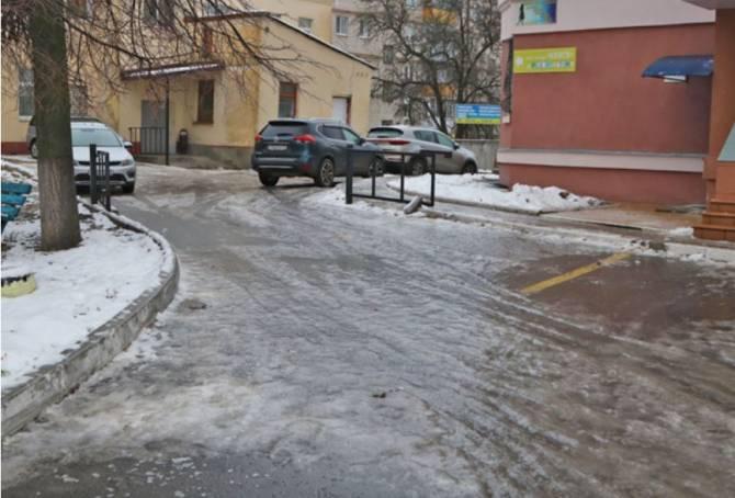 Брянские УК не наказали за ледяные дворы и дороги