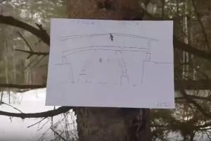 Жителей Белых Берегов позвали на строительство временной дороги через болото