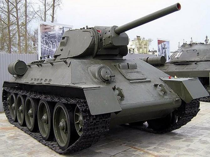 В Брянске в сквере Морозова установят танк Т-34