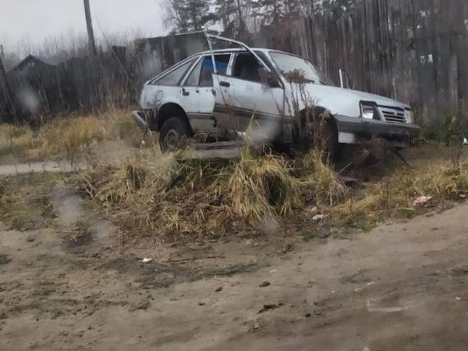 В Брянске легковушка улетела с дороги на улице Олега Кошевого