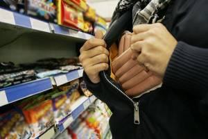 В Брянске участились кражи продуктов из магазинов
