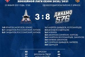 Огорченные разгромом брянские хоккеисты устроили массовую драку