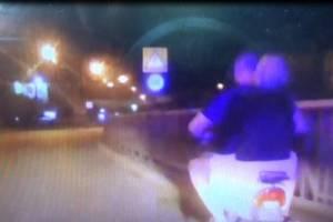 В Брянске поймали пьяного мужчину на скутере