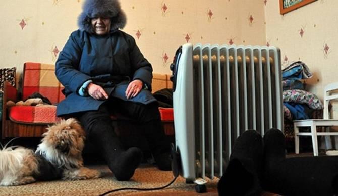 В Брянске заморозили жителей многоэтажки на Полесской