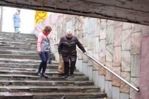 В Брянске чиновники забыли про убитый подземный переход на Полтиннике