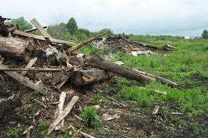 Брянские чиновники выделили многодетным семьям захламленные земли