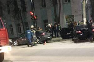 В Брянске многодетная семья попала в крупное ДТП