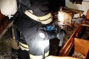 В Брянске на улице Фокина случился пожар