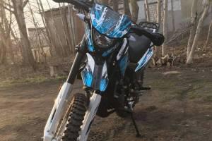 В Дятьковском районе ночью угнали мотоцикл