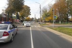 В Брянске после ДТП «Киа» отбросило на 11-летнюю девочку