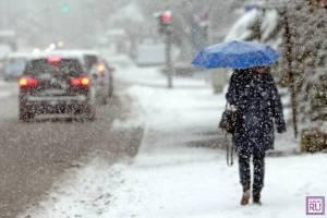 В Брянской области в четверг ожидается мокрый снег