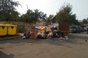 В Брянске продолжает расти свалка возле ТРЦ «Мельница»