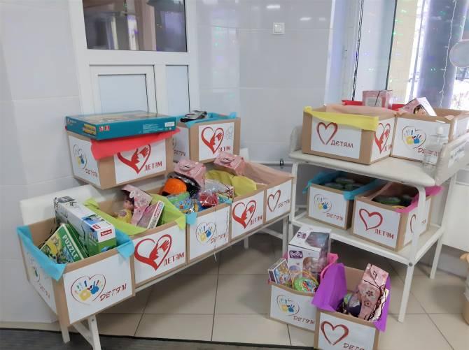В Брянске подготовили именные подарки для тяжелобольных детей