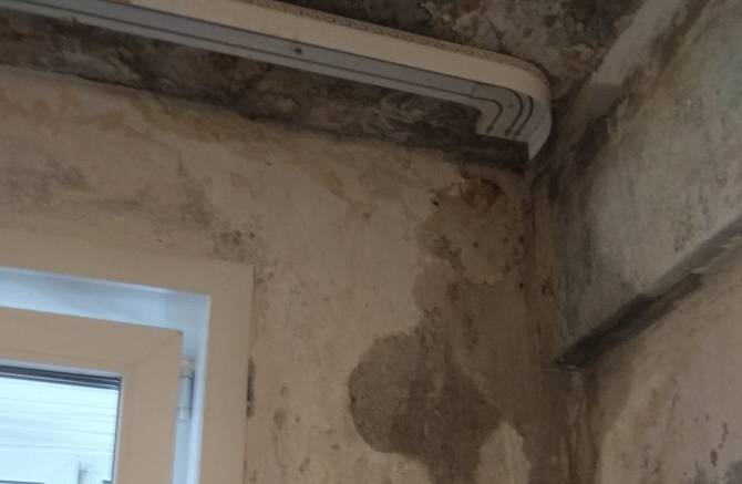 Чиновники закрыли глаза на протекающую многоэтажку в Брянске