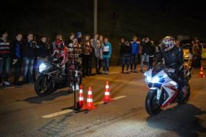 В Дятьково байкеры устраивают незаконные гонки по ночам