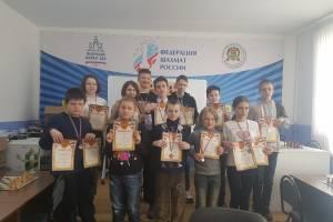 Ребята из брянского лицея №1 победили на соревнованиях по шахматам