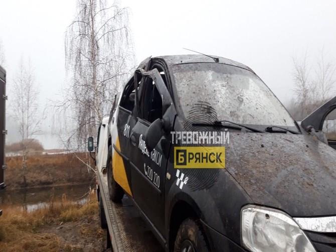 Устроивший ДТП под Брянском таксист отказался от проверки на алкоголь