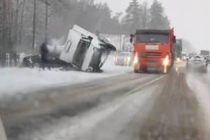 У памятника водителям под Брянском зафиксировано сразу три ДТП