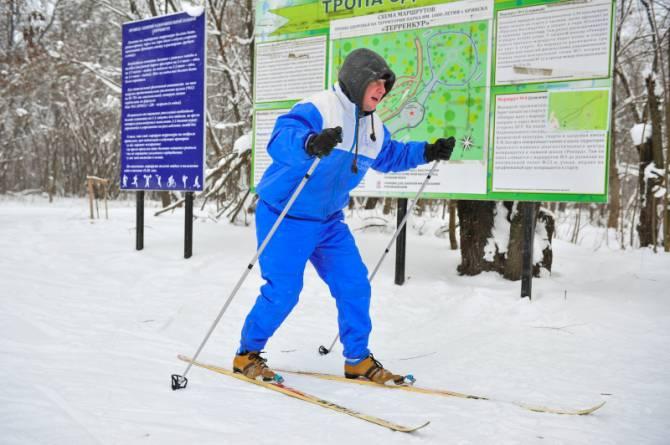 В Брянской области МЧС определило лучших лыжников