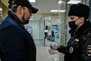 За выходные на Брянщине поймали 33 безмасочника