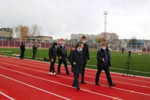 В Брянске завершился капитальный ремонт стадиона «Спартак»