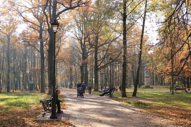 В Красной Горе начался второй этап благоустройства парка