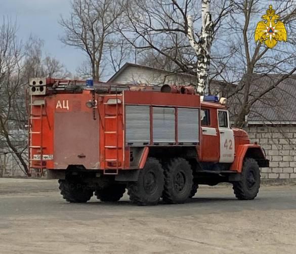 Под Карачевом сгорел частный гараж