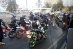 Брянские байкеры закрыли сезон мотопробегом