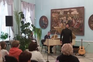 На «тютчевском» празднике артисты брянской филармонии дали концерт