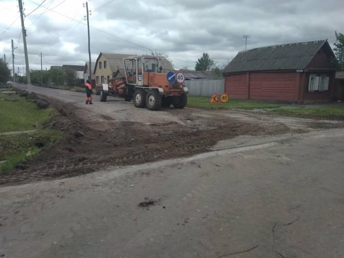 Новозыбковцы сочли расточительством укладку нового асфальта по улице Воровского