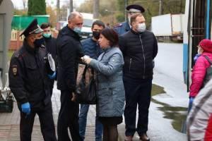 В Брянске с начала сентября суд рассмотрел более тысячи дел на безмасочников