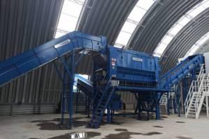 В Трубчевском районе открыли мусоросортировочную станцию