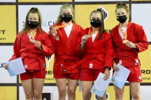 Брянская самбистка завоевала бронзу на первенстве Европы