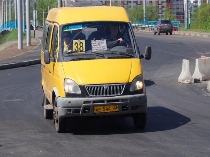 В Брянске предложили закрыть маршрут № 38