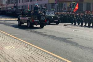 В Брянске началась онлайн-трансляция парада